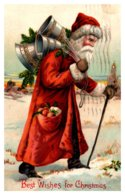 Christmas ,  Santa Claus Red Suit - Santa Claus