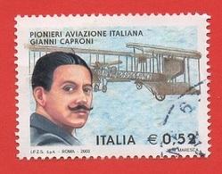 2003 (2704) Pionieri Aviazione Italiana Gianni Caproni - Leggi Messaggio Del Venditore - 2001-10: Usati