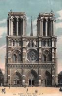 PARIS (75) Cathédrale Notre-Dame 1163-1260 Les 2 Tours-Eglise-Religion - Iglesias