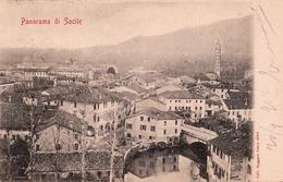 SACILE PANORAMA 1902 VIAGGIATA - Pordenone