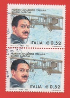 2003 (2704) Pionieri Aviazione Italiana Gianni Caproni In Coppia - Leggi Messaggio Del Venditore - 2001-10: Usati
