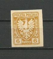 Poland 1919 - Mi. 57, No Gum - Ungebraucht
