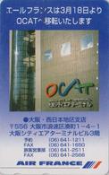 Télécarte Japon / 110-011 - AIR FRANCE - AIRLINES Japan Phonecard -  Aviation Avion - 2260 - Avions