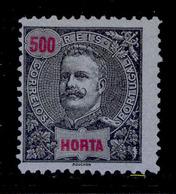 ! ! Horta - 1897 D. Carlos 500 R - Af. 26 - No Gum - Horta