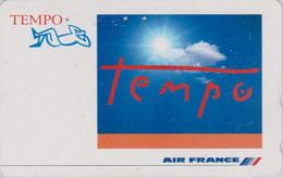 Télécarte Japon / 110-011 - AIR FRANCE - AIRLINES Japan Phonecard - Aviation Avion 2263 - Avions
