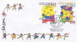 COLOMBIA EN PAZ-FDC 1997 BOGOTA - BLEUP - Colombia