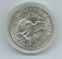 STATI UNITI 1 DOLLARO AQUILA SULLA LUNA 1971 - Emissioni Federali