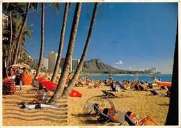 Hawaii Honolulu, Waikiki, Another Glorious Day, Sunbathing Plage Beach 1984 - Belgium