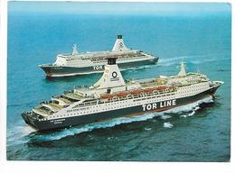 17) TOR LINE FERRIES - M/S TOR BRITANNIA & TOR SCANDINAVIA C?. - Ferries