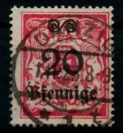 DANZIG Nr 183 Zentrisch Gestempelt X6D1516 - Danzig
