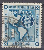 ESPAÑA - SPAGNA - SPAIN - ESPAGNE - 1951 - Yvert Posta Aerea 248 Usato. - Usati