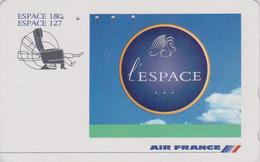 Télécarte Japon / 110-011 - AIR FRANCE - Espace 180 127 - AIRLINES Japan Phonecard -  Aviation Avion 2266 - Avions
