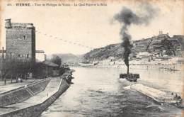 38 - VIENNE - Tour De Philippe De Valois - Le Quai Pajot Et La Bâtie - Vienne