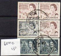 1967 Booklet Pane SG604c Used - 1952-.... Reign Of Elizabeth II