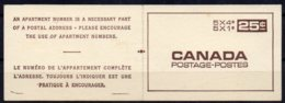 1968 Booklet SB61 MINT - Full Booklets