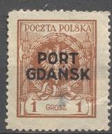 GERMANIA - GERMANY - Deutschland - ALLEMAGNE - Dantzig - Port Gdansk - 1 Grosz - New - Dantzig