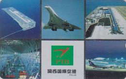 Télécarte NEUVE Japon / 110-159257 - AVION - CONCORDE - AIRLINES Japan MINT Phonecard - Aviation France  2273 - Avions