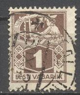 Estonia - Eesti Vabariik - 1 M - Used - Estonia