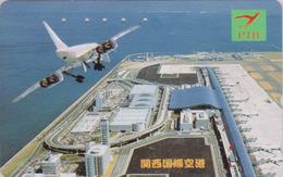 Télécarte Japon / 110-011 - AVION - CONCORDE - AIRLINES Japan Phonecard - FLUGZEUG - Aviation France  2275 - Avions
