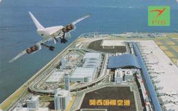 Télécarte NEUVE Japon / 110-1592573 - AVION - CONCORDE - AIRLINES Japan MINT Phonecard - Aviation France  2276 - Avions