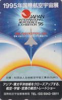 Télécarte Japon / 110-011 - AVION - CONCORDE ** AERO SPACE EXHIBITION ** - AIRLINES Japan Phonecard - France 2278 - Avions