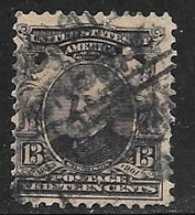 1902 13 Cents Harrison, Used - Used Stamps