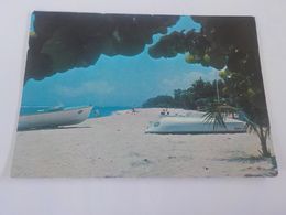 CPSM  GUADELOUPE  LE MOULE  HOTEL DES ALIZES VOYAGEE TIMBREE 1978 - Guadeloupe
