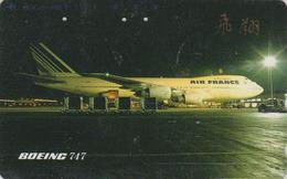 Télécarte Japon / 290-32365 - AIR FRANCE - AVION - BOEING 717 - AIRLINES Japan Phonecard - FLUGZEUG -  2287 - Avions