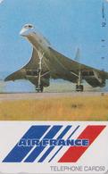 Télécarte NEUVE Japon / 290-1550 - AIR FRANCE - AVION - CONCORDE - PLANE AIRLINES Japan MINT Phonecard - FLUGZEUG - 2289 - Avions