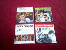 LUCKY BLONDO  ° COLLECTION DE 4 CD  4 TITRES - Musique & Instruments