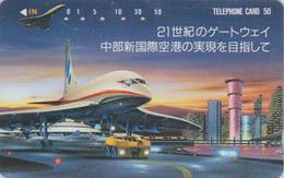 Télécarte Japon / 290-19851 - AIR FRANCE - AVION & CONCORDE - AIRLINES Japan Phonecard - FLUGZEUG -  2291 - Avions