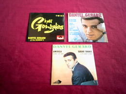 DANYEL GERARD   ° COLLECTION DE 3 CD  4 TITRES - Musique & Instruments