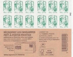 FRANCE CARNET ADHESIF NEUF NON PLIE CIAPPA ET KAWENA - 858-C3 - DECOUVREZ LES ENVELOPPES PRET A POSTER PRESTIGE - Carnets