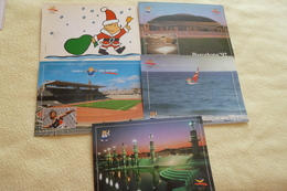 LOT DE 5 CARTES JEUX OLYMPIQUES DE BARCELONE ...1992...STADE...MASCOTTE...ETC - Cartes Postales