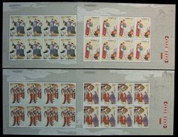 China 2004-14 Folktale Liu Yi Delivering A Letter Stamps Sheets Dragon Lake Love Story Costume Folk Tale - Fairy Tales, Popular Stories & Legends
