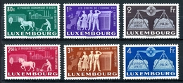 Luxemburg MiNr. 478-83 Postfrisch MNH Cept Vorläufer (W2882 - Luxemburg