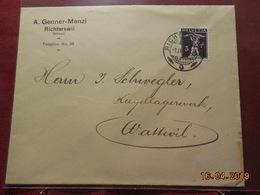 Lettre De Suisse - Brieven En Documenten