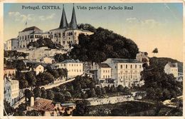 Portugal Cintra Sintra Vista Parcial E Palacio Real 1930s - Postcards