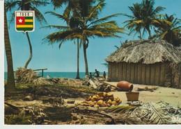 C.P. - PHOTO - REPUBLIQUE DU TOGO - VILLAGE AU BORD DE MER - 5740 - - Togo