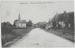 CRULAI - ENTREE DU BOURG, ROUTE DE RANDONAL - VERS 1900 - France