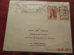 Lettre De 1962 à Destination De La Ferté-Gaucher - Morocco (1956-...)
