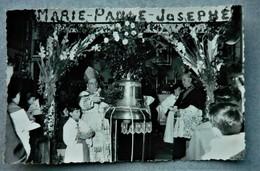 Carte Photo Baptême De La Cloche De L'église De Syam - Jura - 1961 - Photo Ronget  Champagnole - France