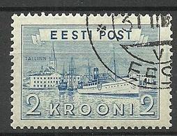 Estland Estonia 1938 Reval Hafen Michel 137 O - Estonie