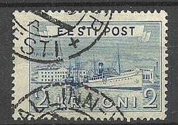 Estland Estonia 1938 Reval Harbour Michel 137 O - Estonie