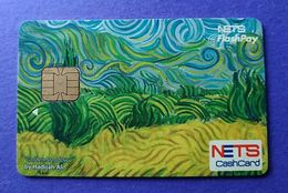 Singapore Cash Card Chip Cashcard Used - Autres Collections