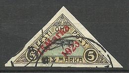 Estland Estonia 1923 Michel 42 B O - Estonia