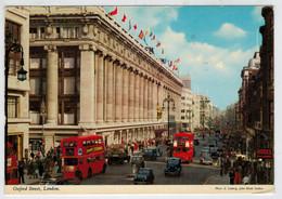 LONDON    OXFORD   STREET       (VIAGGIATA) - London