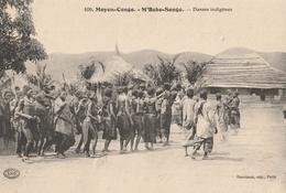 MOYEN-CONGO  - M'BOKO-SONGO  Danses Indigènes - Congo Français - Autres