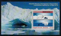 Groenland 2010 // Bande Dessinée Groenlandaises Bloc-feuillet Neuf ** MNH - Neufs
