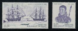 Groenland 2010 // Expéditions Arctiques De 1818 Timbres Neuf ** MNH Y&T 548-549 - Neufs